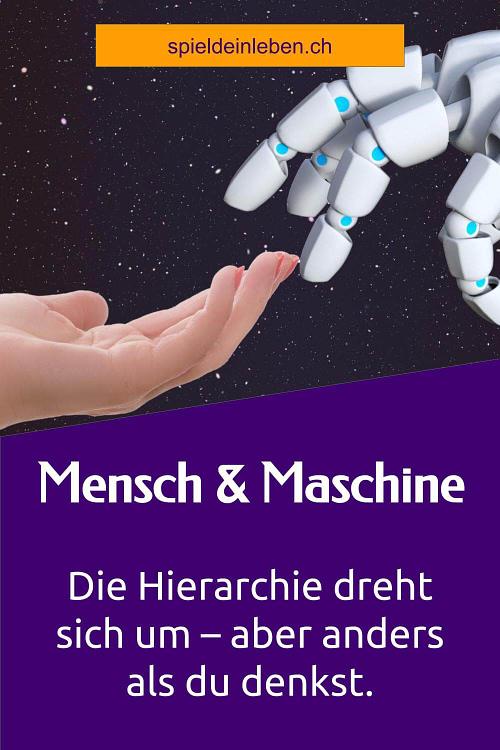 Mensch und Maschine: Die Hierarchie dreht sich um – aber anders als du denkst.