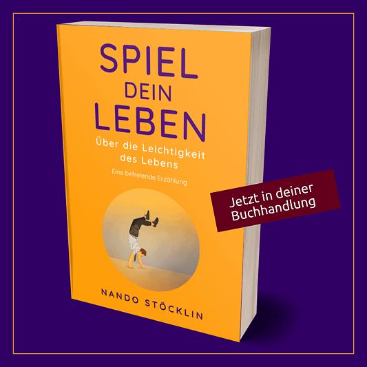 """Buch """"Spiel dein Leben"""" jetzt verfügbar"""