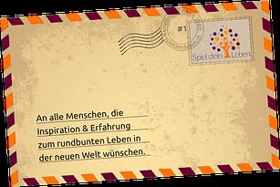 Brief vom Spieler #1