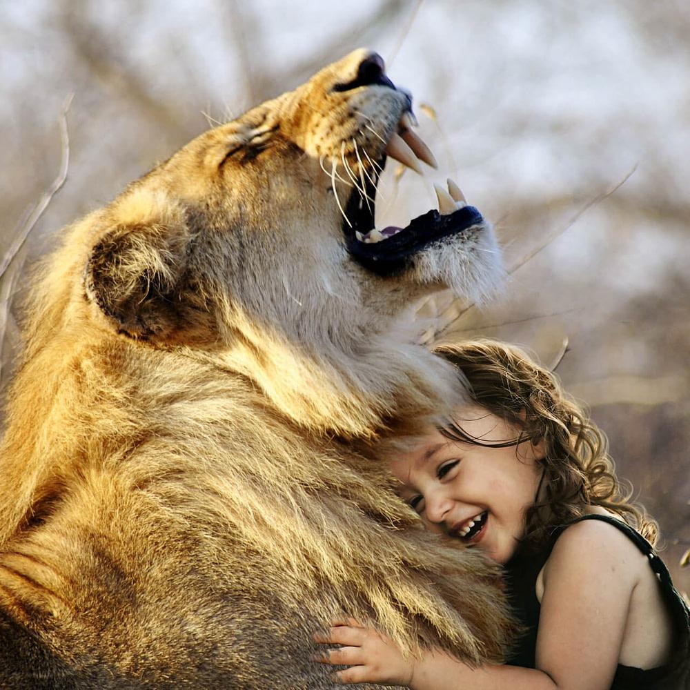 Kind mit gesundem Selbstvertrauen