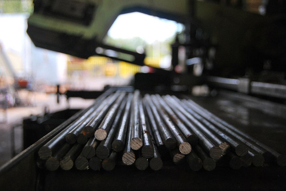 Industrie - Metallstäbe